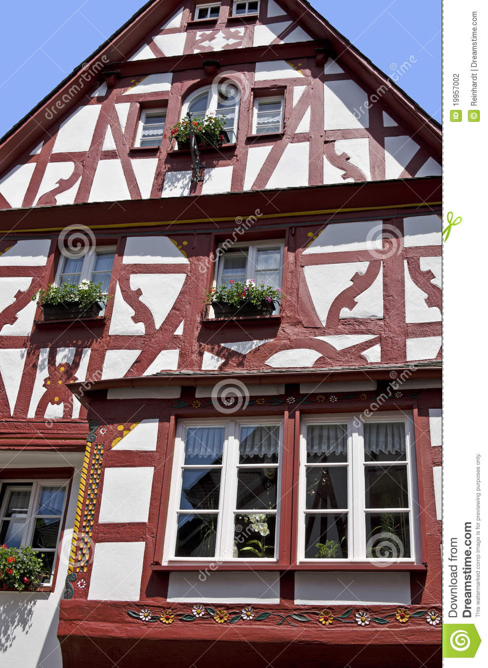 half timbered houses stock photography image 19957002. Black Bedroom Furniture Sets. Home Design Ideas