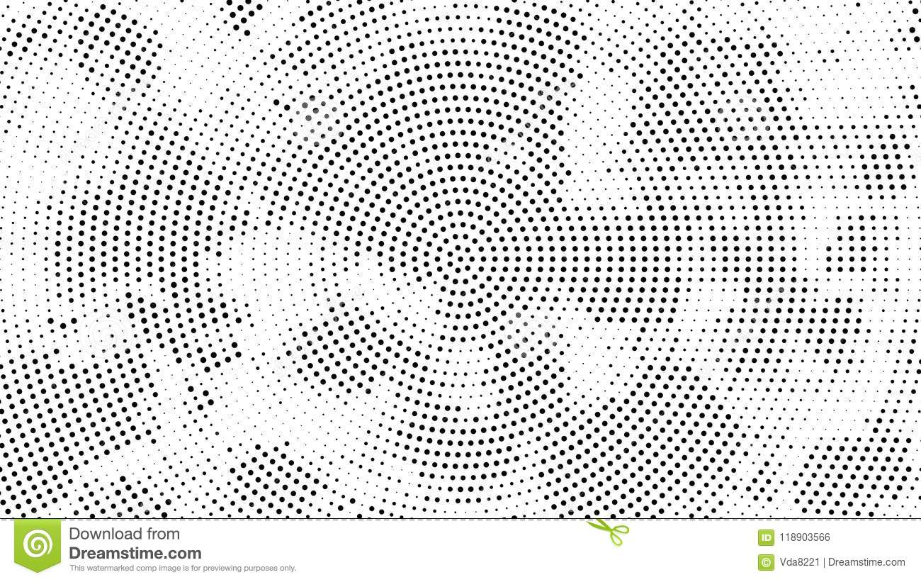Halftone Dotted Background  Halftone Effect Vector Pattern