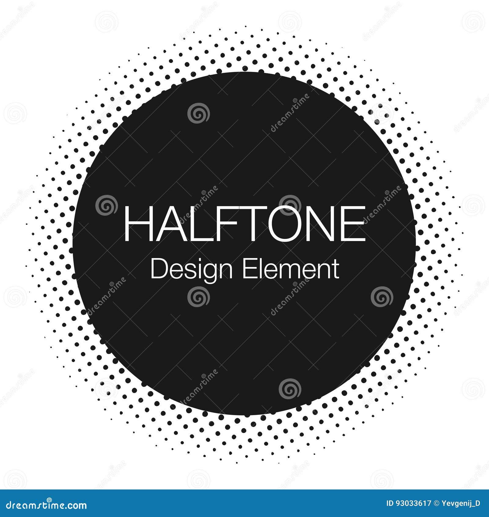 Halftone kropki Monochrom, abstrakcjonistyczny tło w wystrzał sztuki stylu