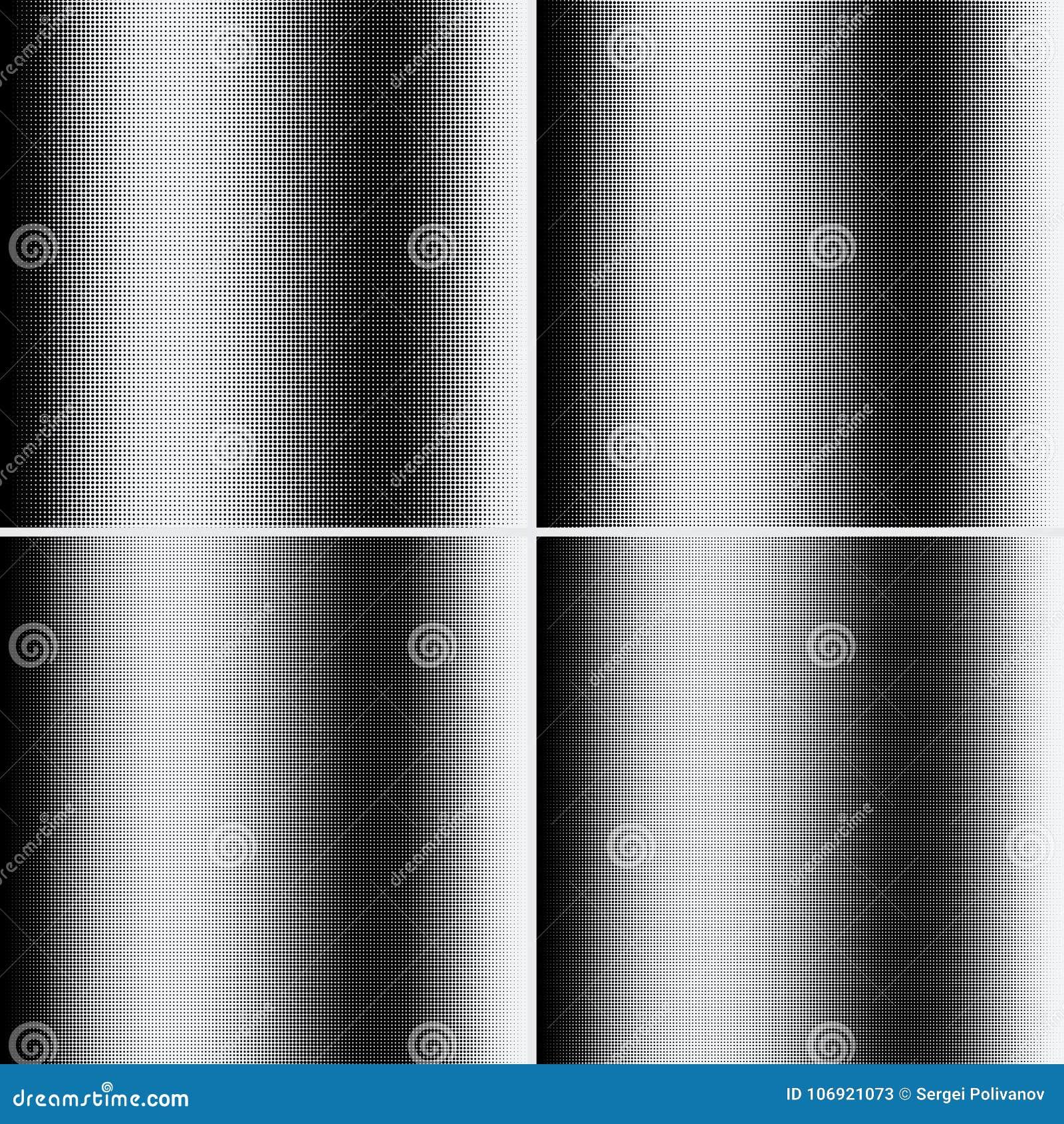 Halftone kropki na białym tle