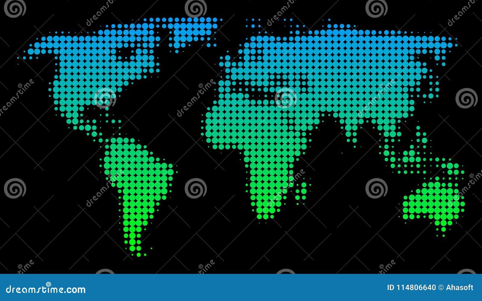 Halftone world map stock vector illustration of halftone 114806640 download halftone world map stock vector illustration of halftone 114806640 gumiabroncs Image collections