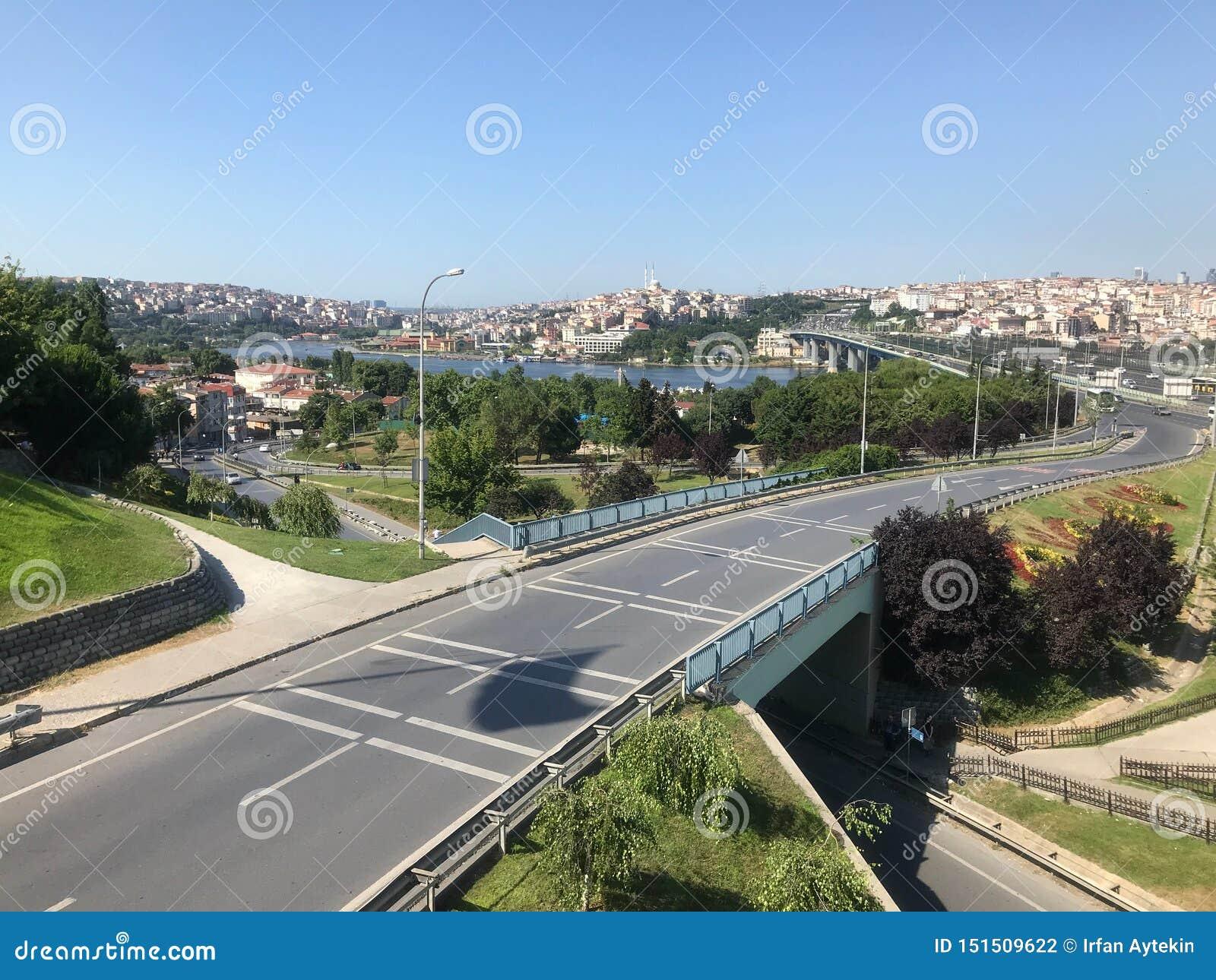 Halic από Ayvansaray, Ιστανμπούλ, Τουρκία - ΤΟΝ ΙΟΎΝΙΟ ΤΟΥ 2019