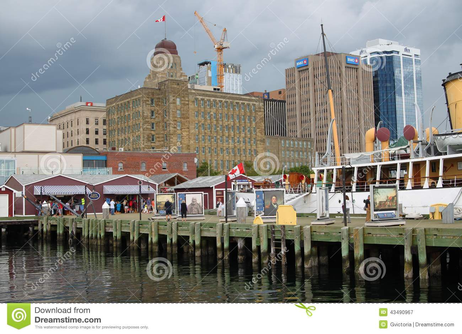 Halifax, Nova Scotia-Ufergegend