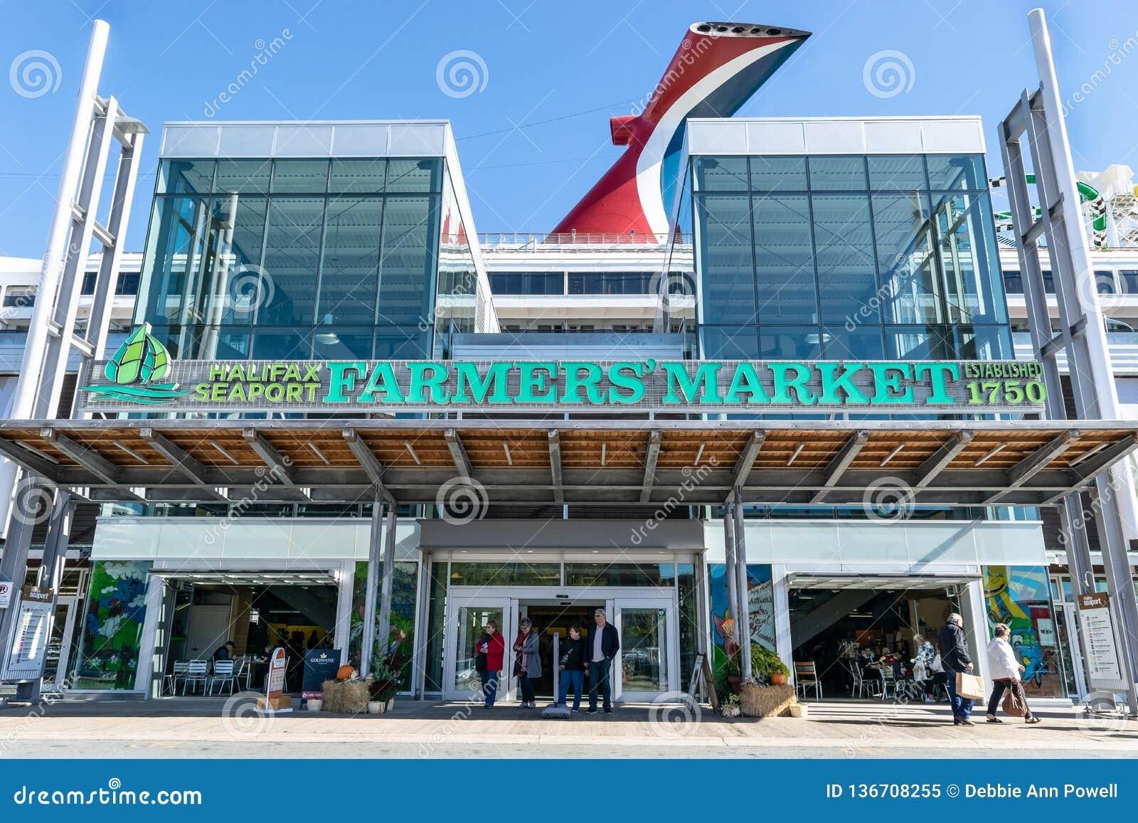 Halifax Seaport Farmer`s Market in Canada