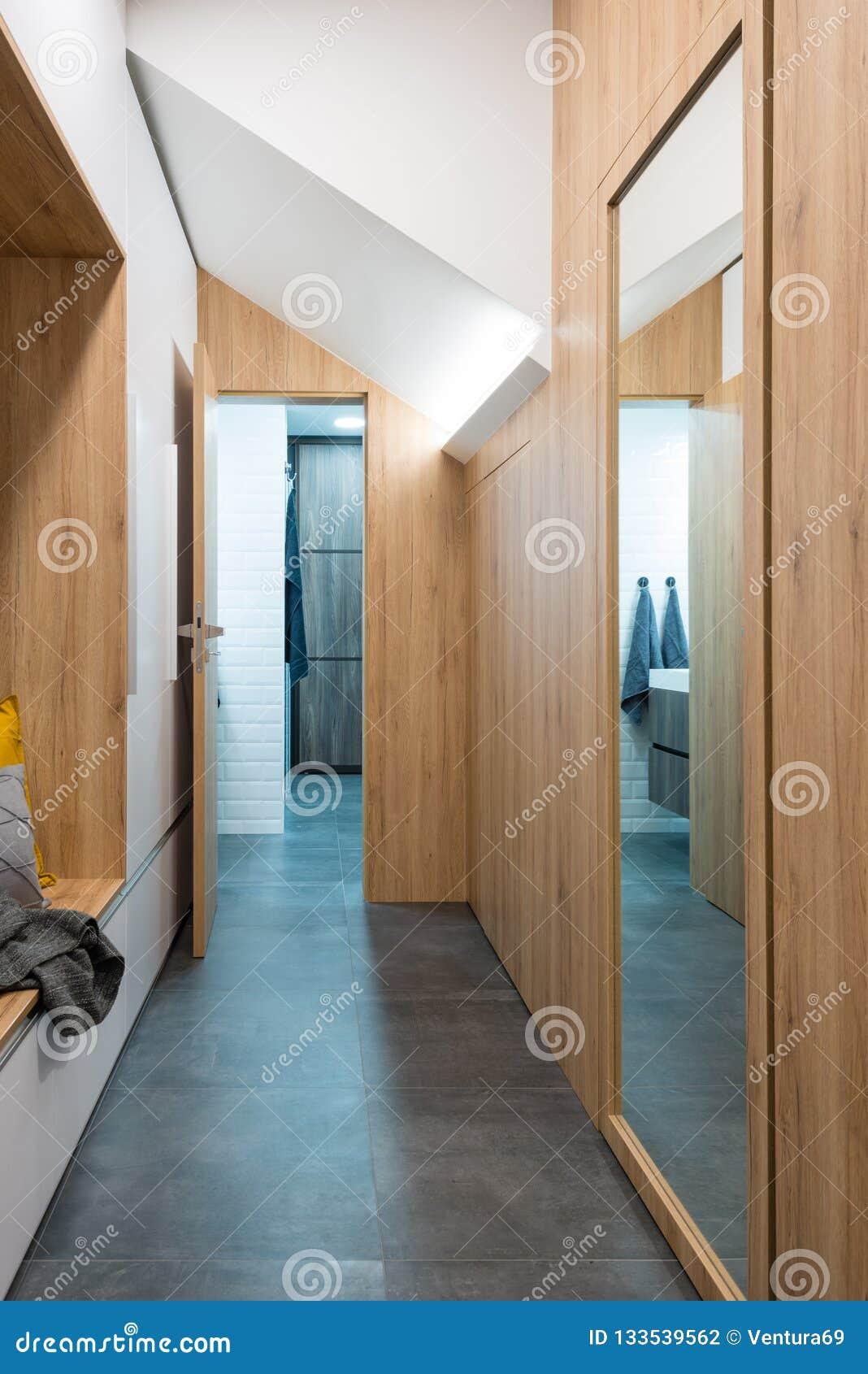 Hall D\'entrée De Maison Moderne Photo stock - Image du luxe, élégant ...