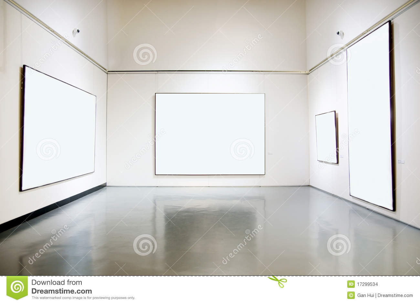 hall d 39 exposition de galerie d 39 art images stock image 17299534. Black Bedroom Furniture Sets. Home Design Ideas