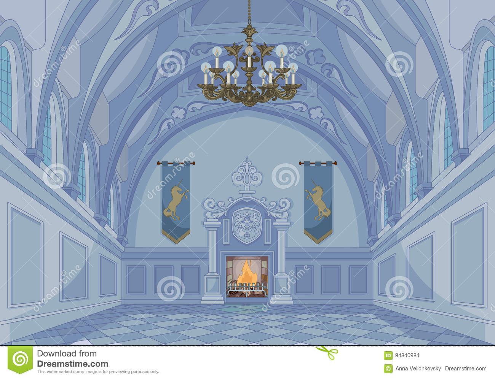 Hall de château
