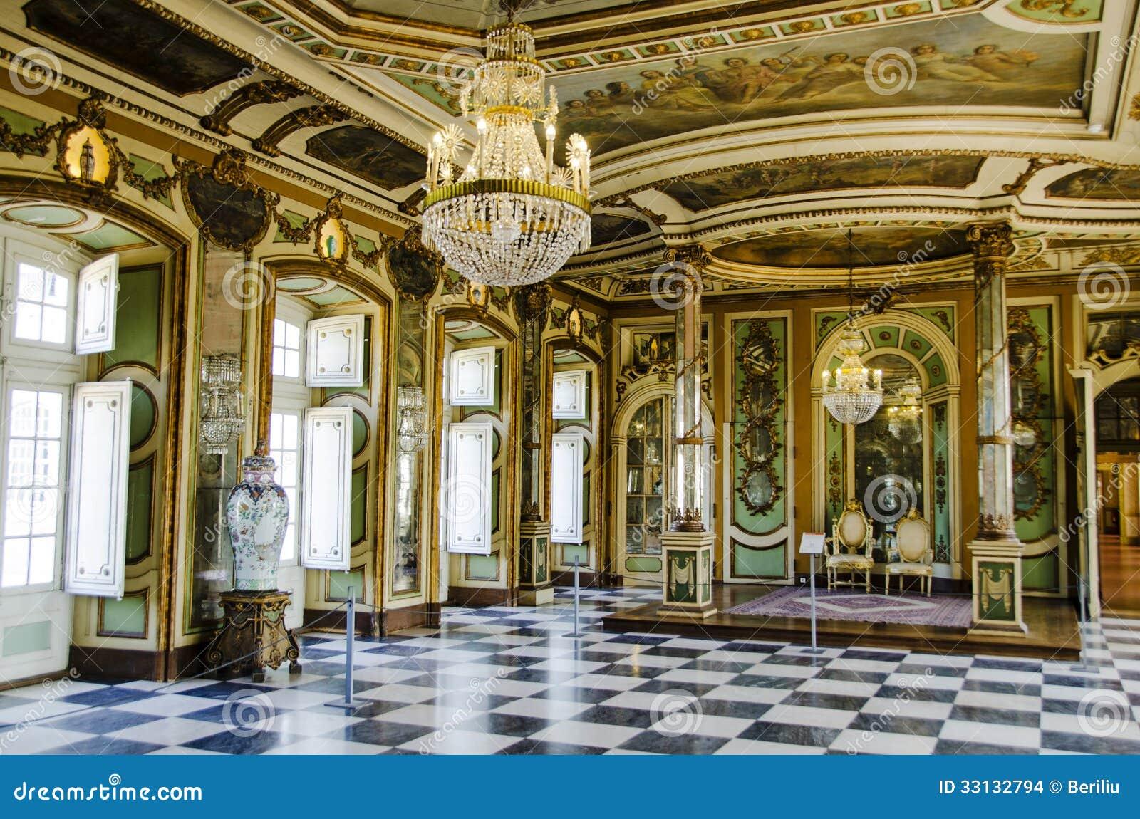 Hall Des Ambassadeurs Dans Le Palais De Ressortissant De