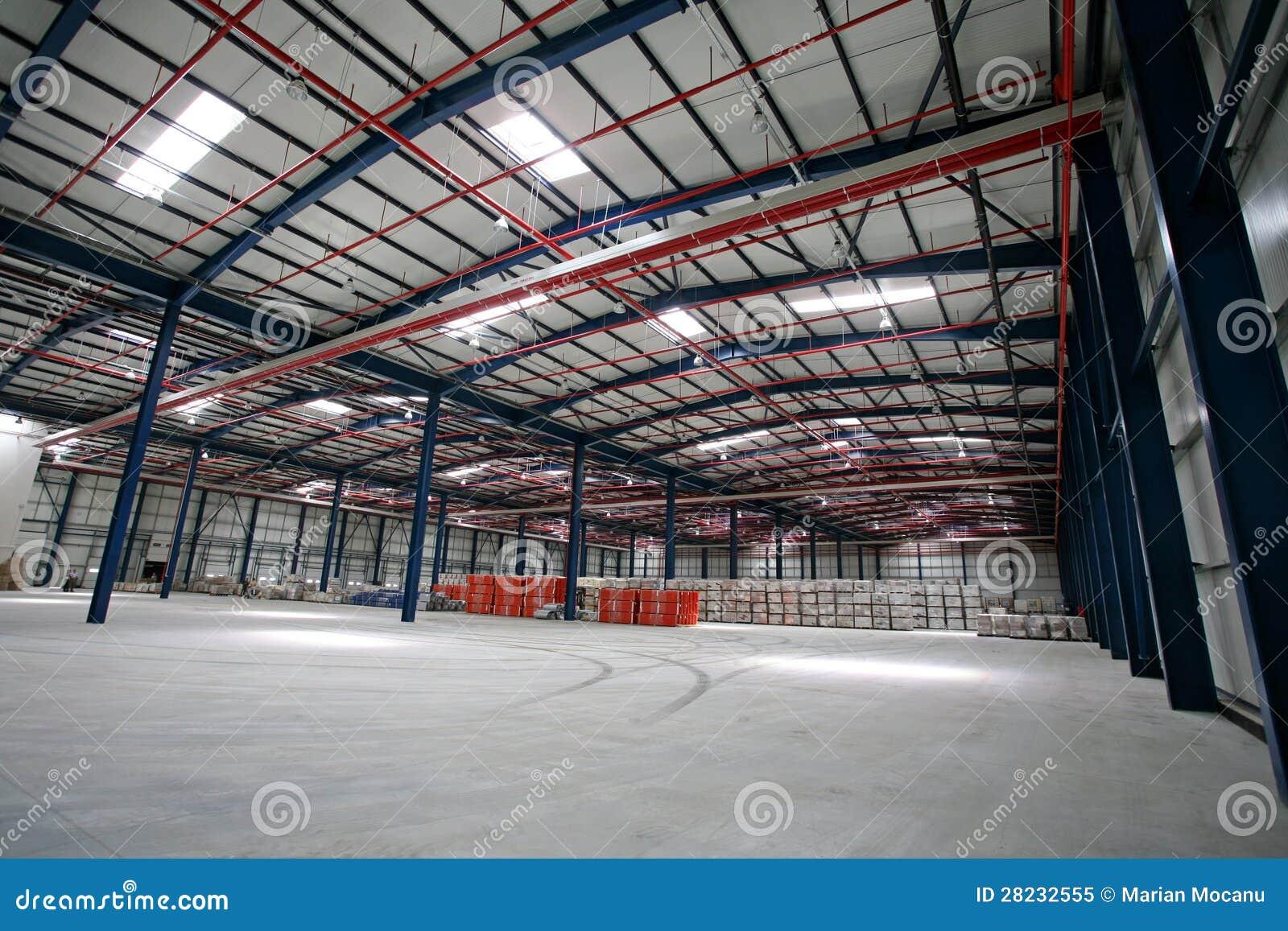 Hall fabrik