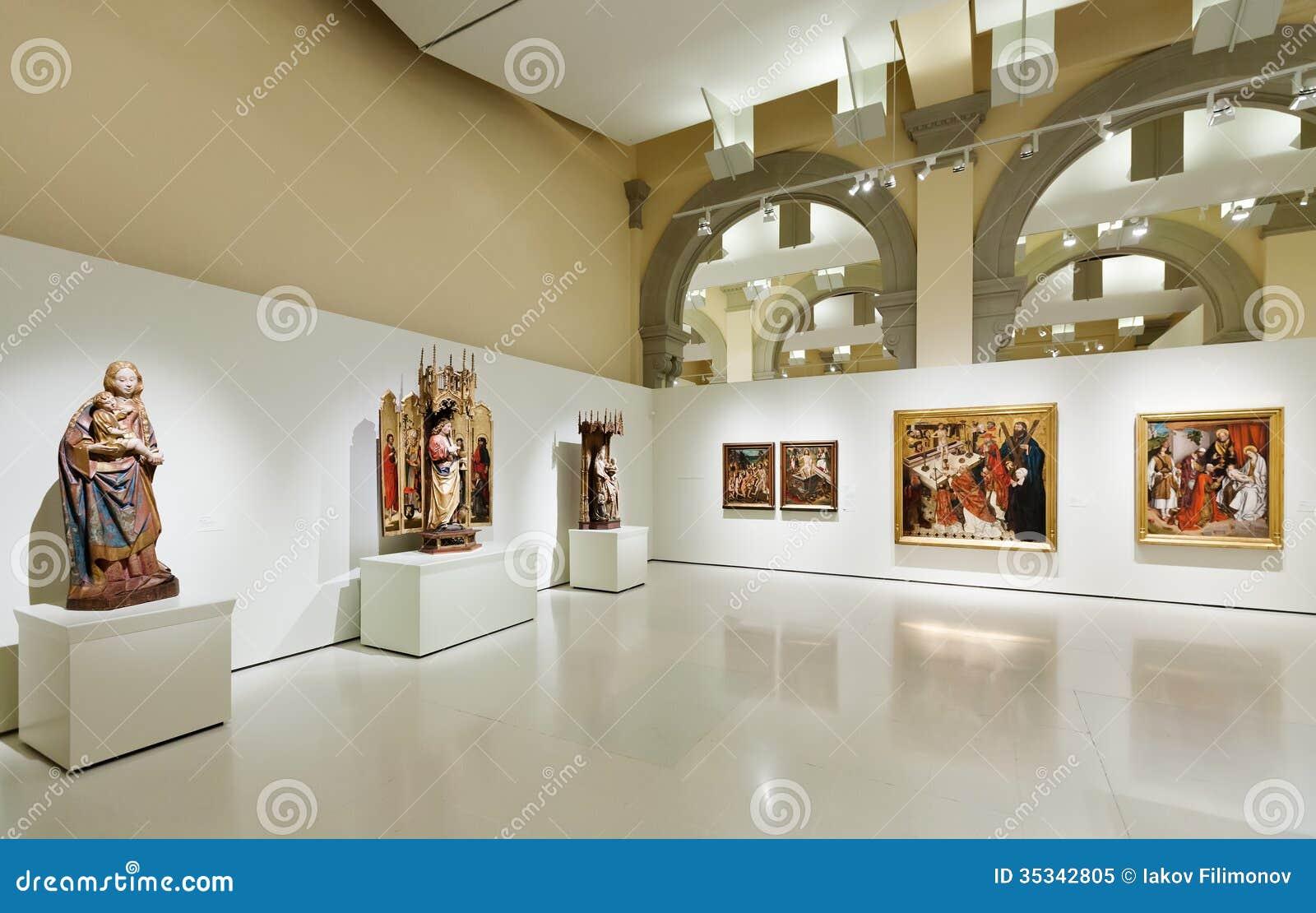 Hall gothique médiéval d art de style