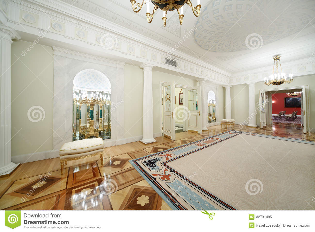 Hall In Grand Kremlin Palace Editorial Image Image 32791495