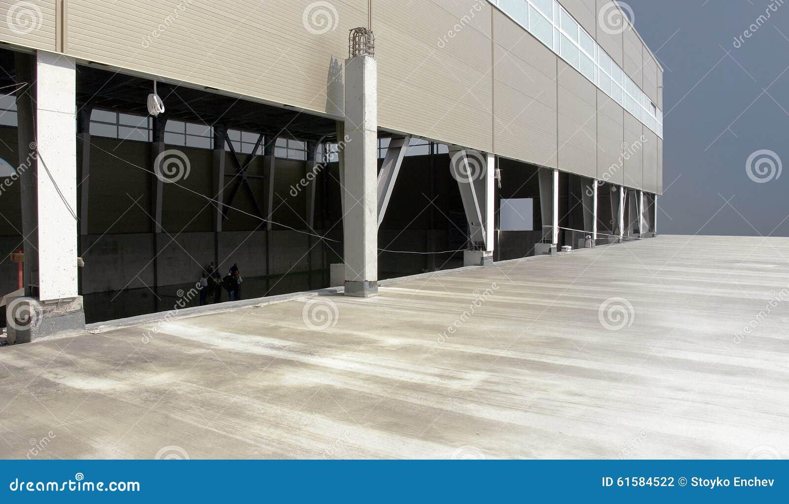 Hall industriel