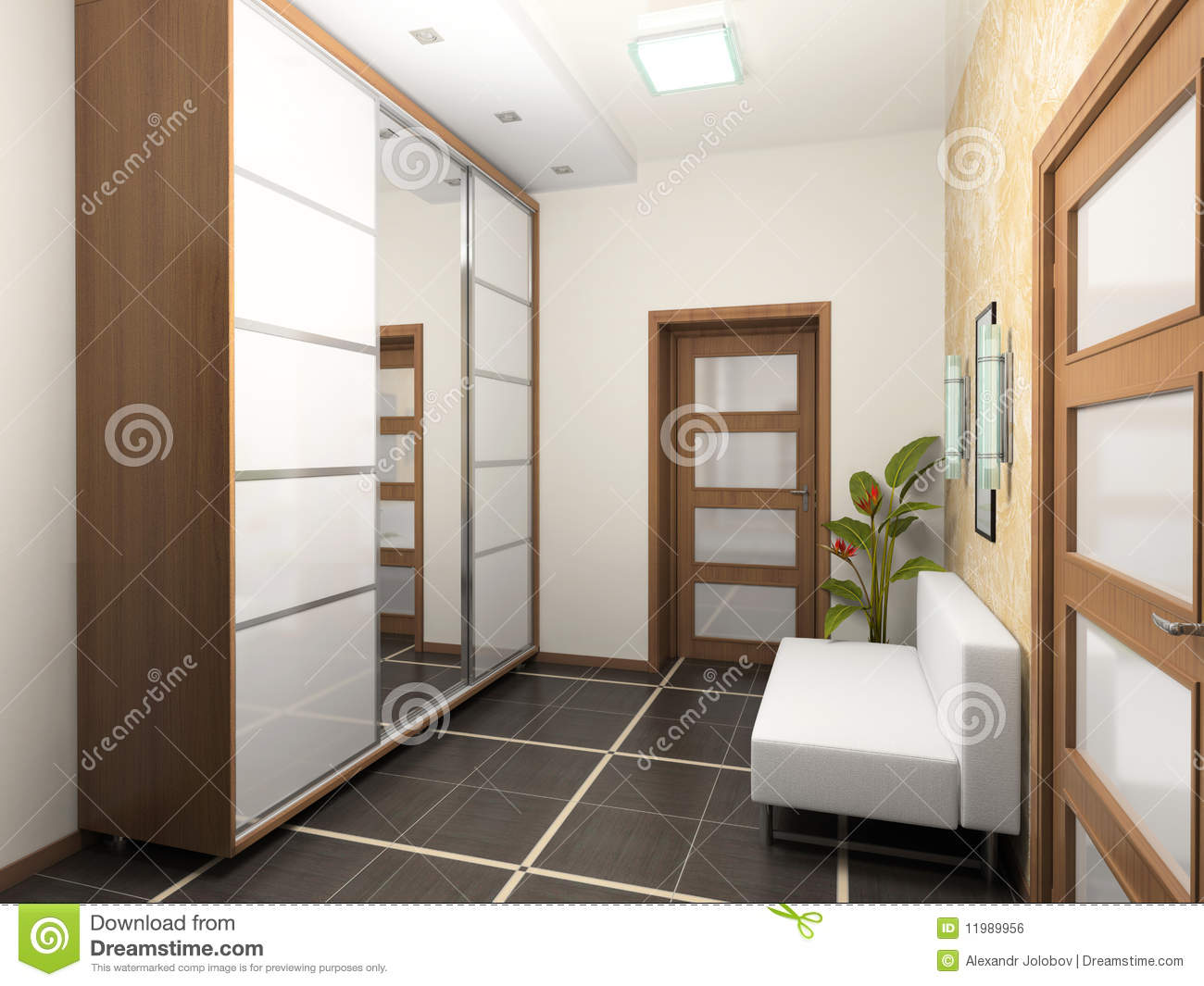 Hall interior royalty free stock image image 11989956 for Hall interior images