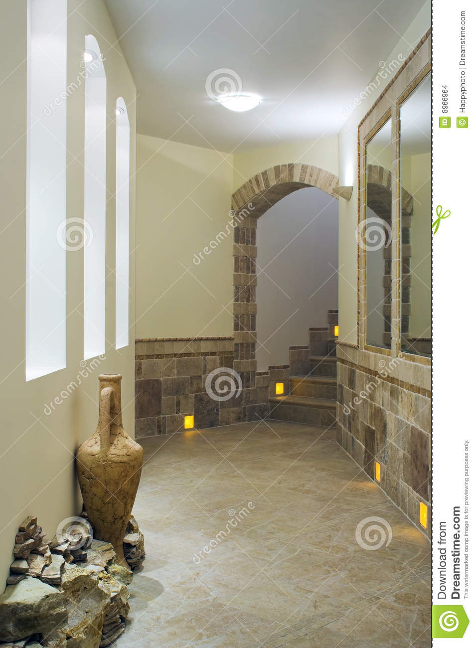 Hall interior with staircase stock images image 8966964 for Hall interior images