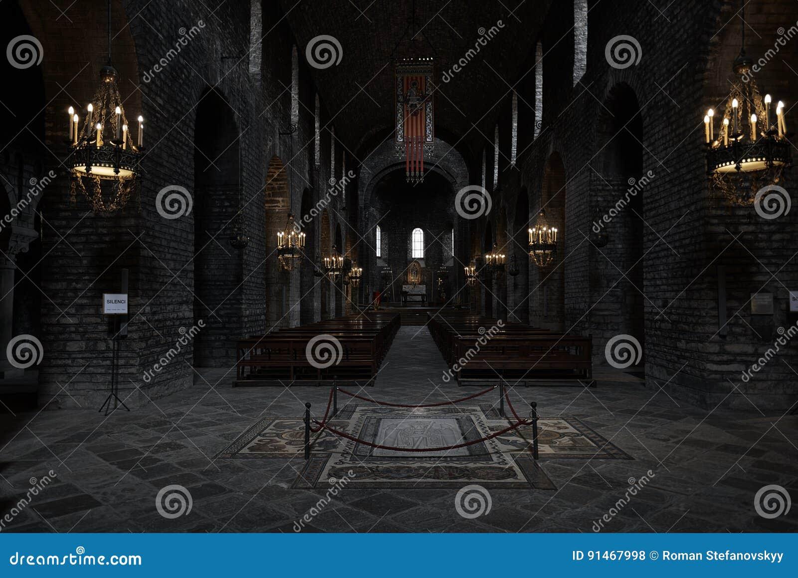 Hall monastery Santa Maria