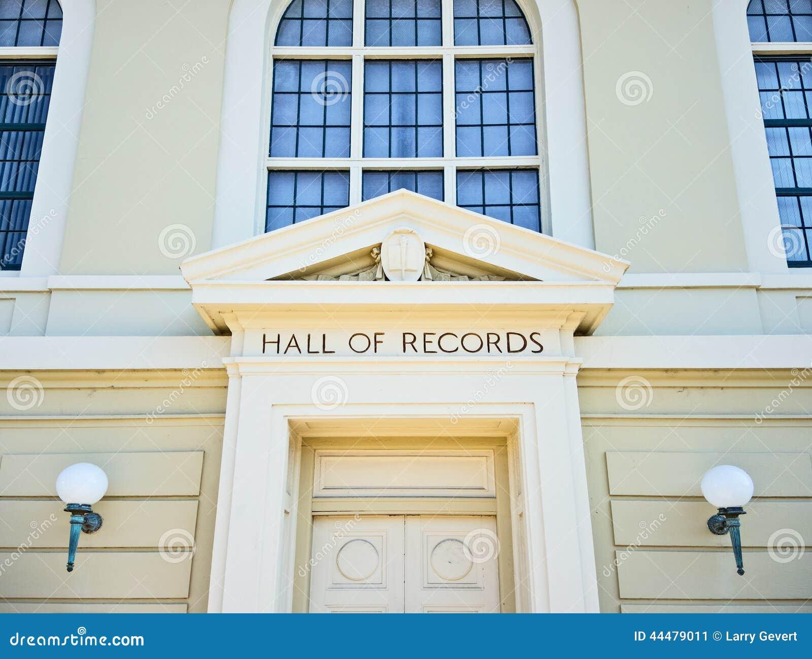 Hall rejestry