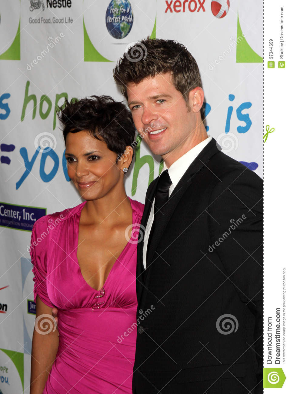 Halle Berry Robin Thicke