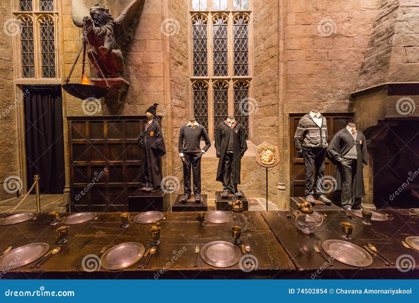 Hallen i Warner Brothers Studio turnerar  danandet av Harry