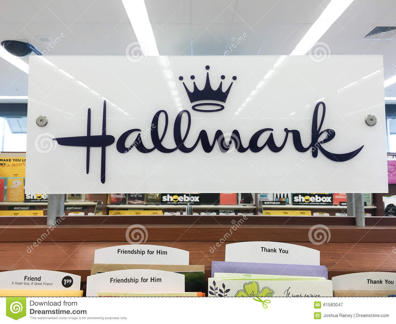 Hallmark greeting cards at grocery store editorial photography hallmark greeting cards at grocery store kristyandbryce Choice Image