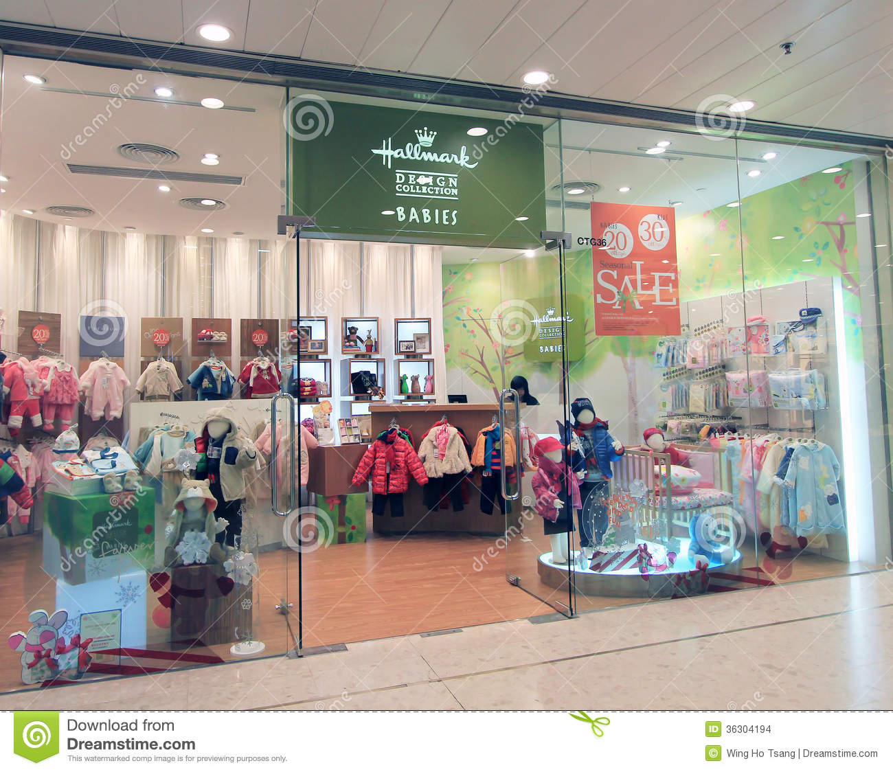 Hong Kong Shopping: Hallmark Shop In Hong Kong Editorial Stock Image
