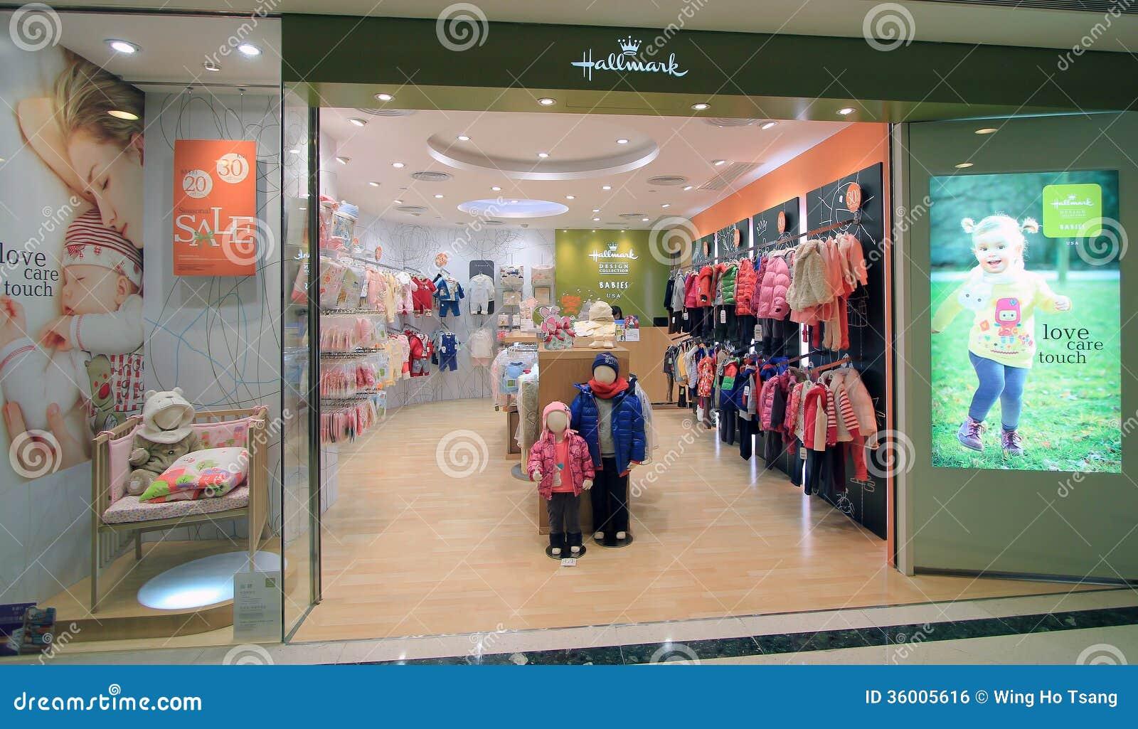 Hallmark Shop In Hong Kong Editorial Image