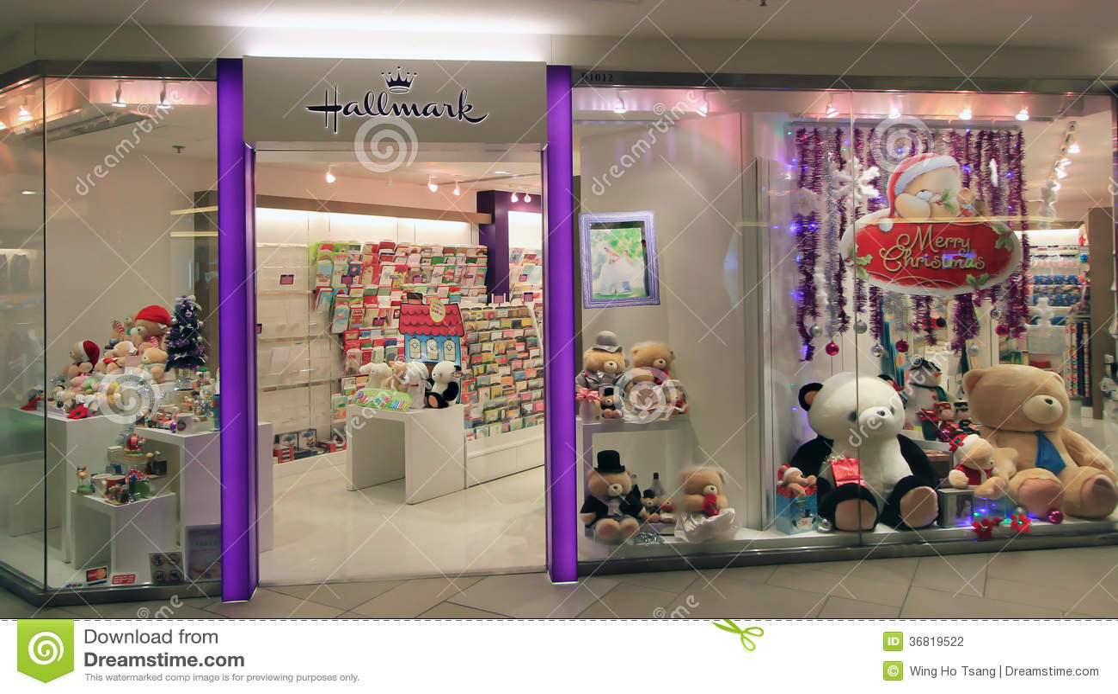 Hallmark Shop In Hong Kong Editorial Photography Image