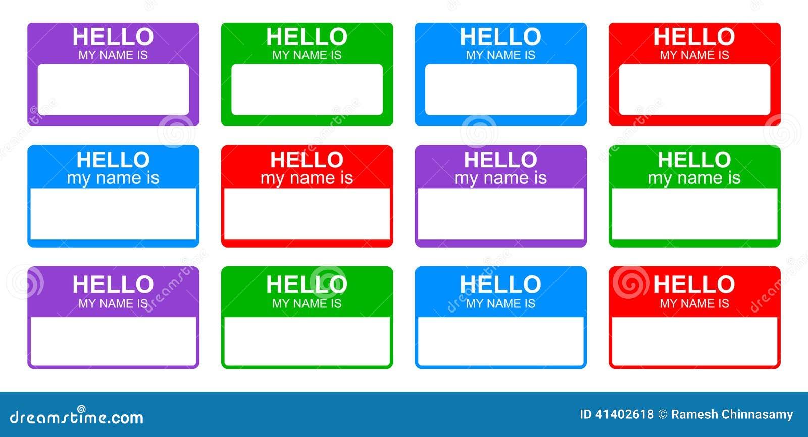Hallo ist mein Name