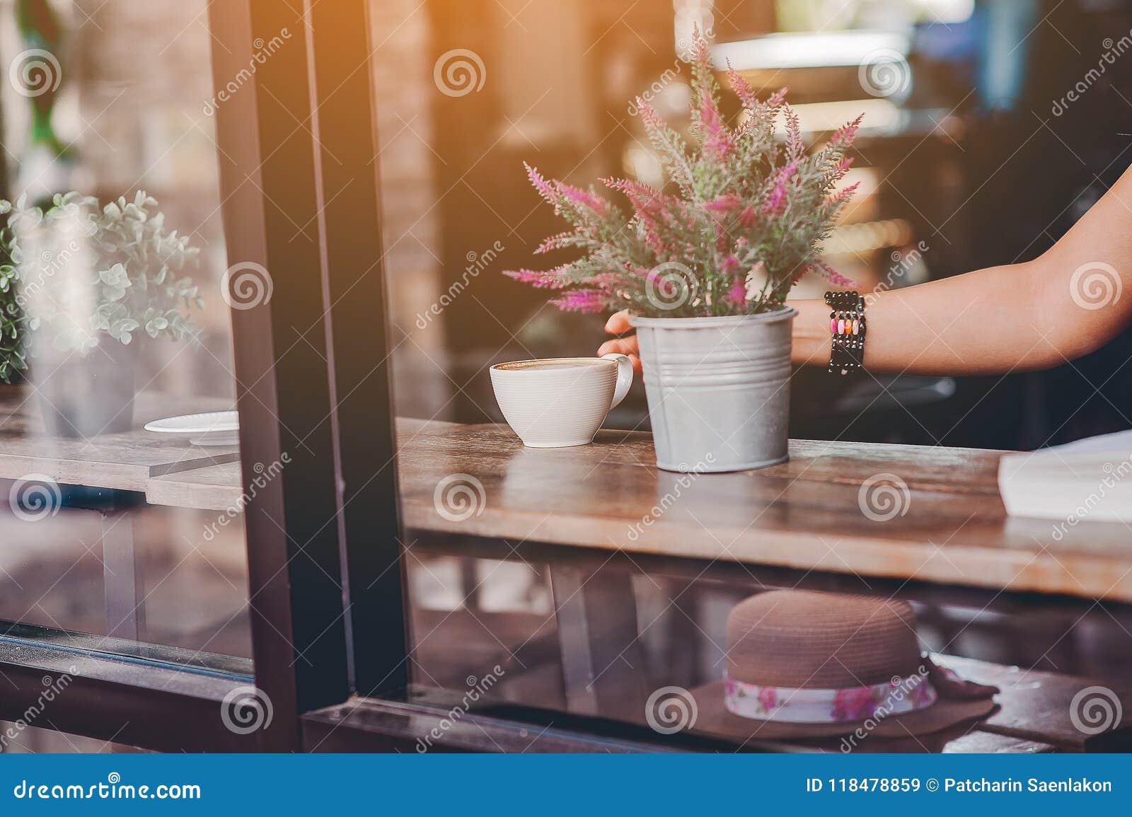 Hallo morgens mit aromatischem Liebeskaffee des Kaffees I mag ich t