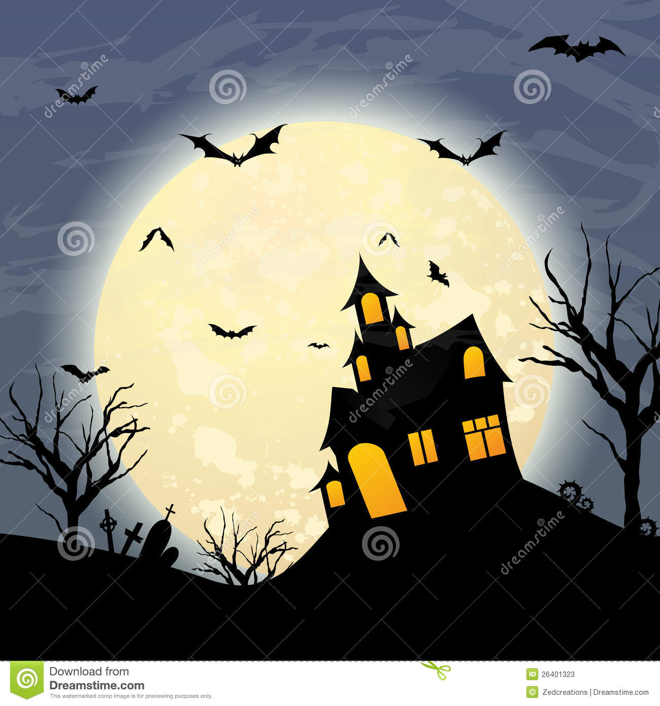 download halloween stock vector illustration of vector dark 26401323