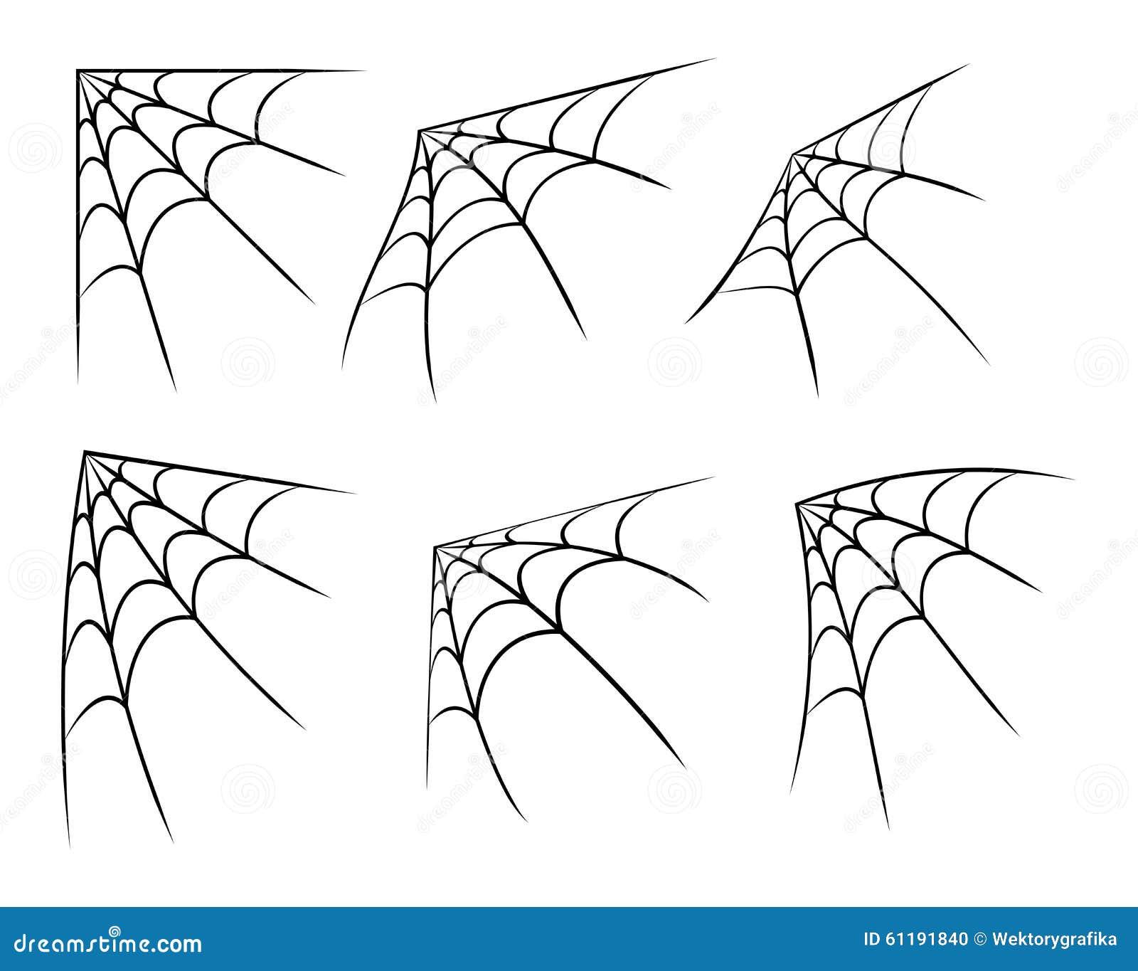 Halloween Acculent La Toile D Araignée Symbole De Toile D