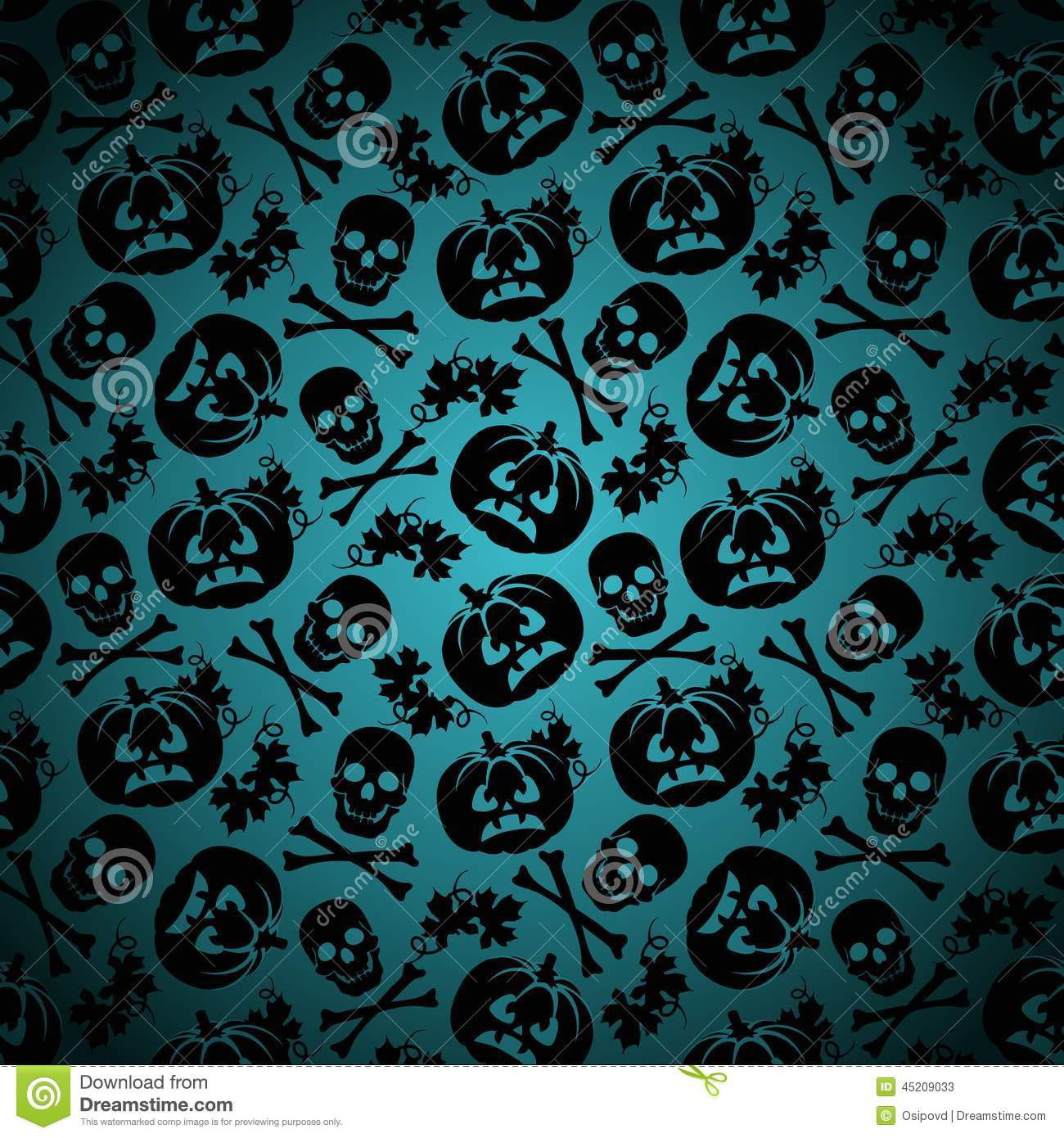 Fantastic Wallpaper Halloween Grunge - halloween-background-pumpkin-skeleton-seamless-pattern-45209033  You Should Have_444064.jpg