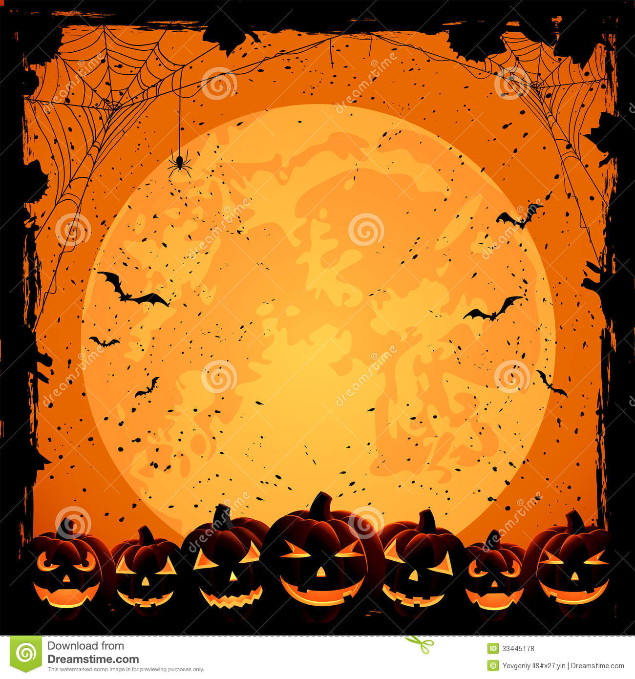 background full halloween illustration - Halloween Background Images Free