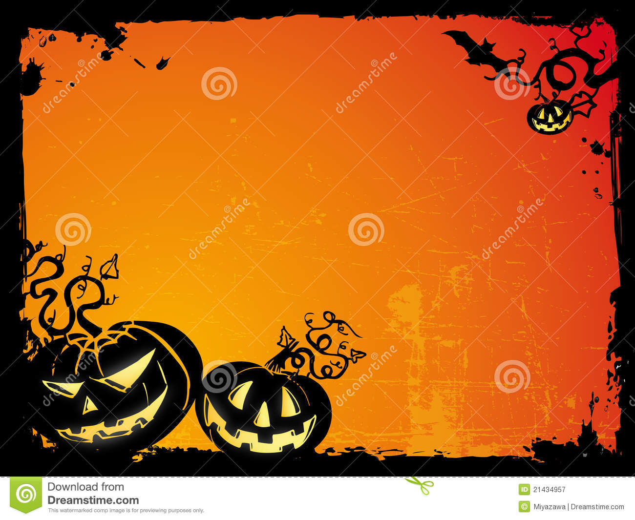 Halloween Backgrounds Royalty Free Stock Photography - Image: 21434957