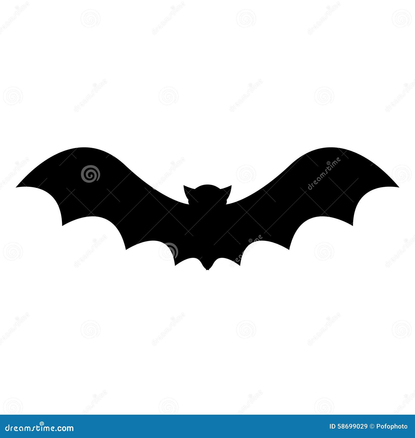 HALLOWEEN BAT VECTOR Stock Photo - Image: 58699029