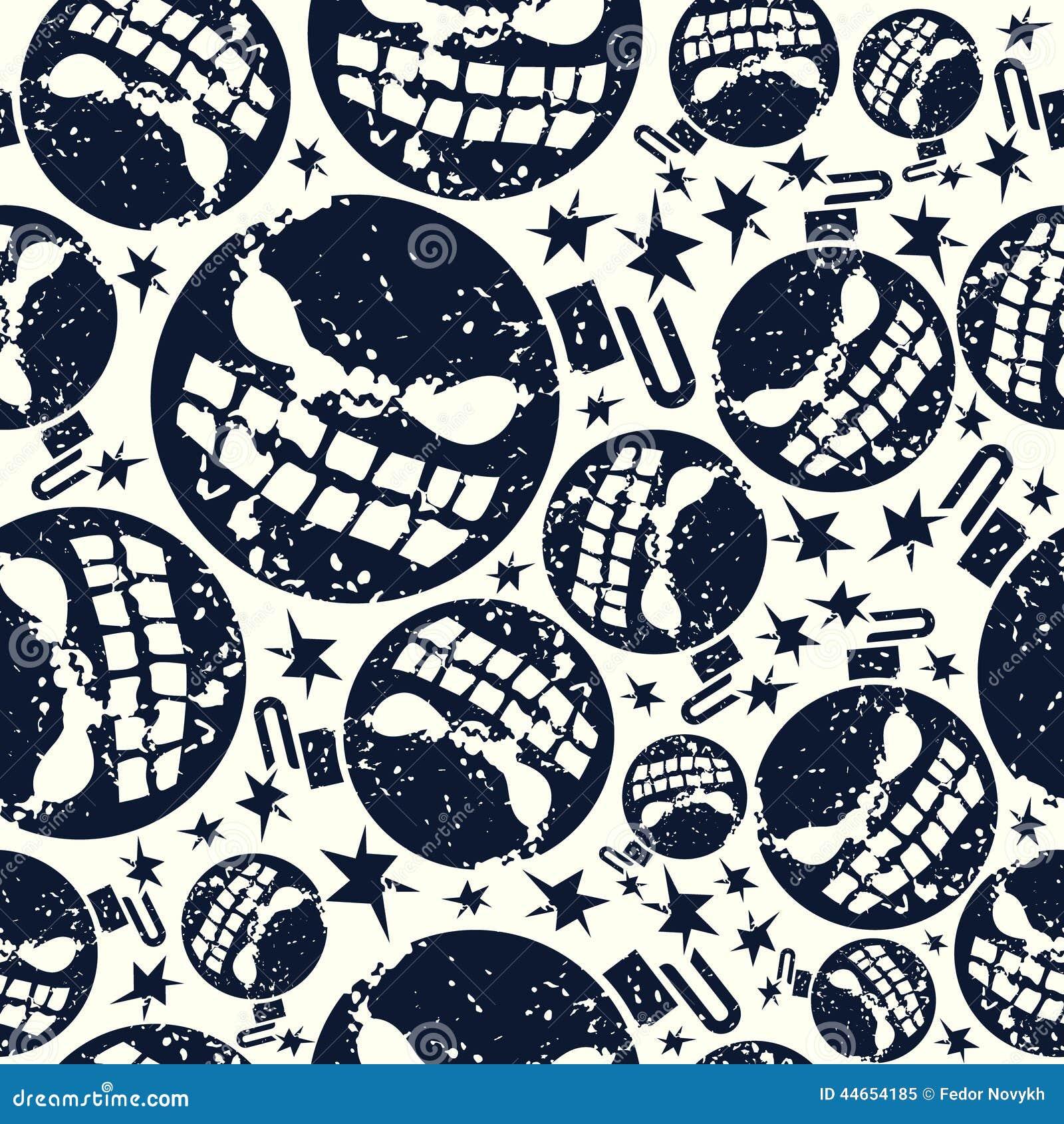 Halloween-bom naadloos patroon