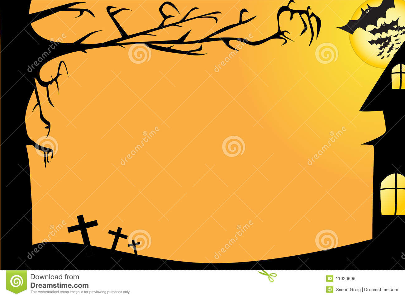 Displaying (19) Gallery Images For Halloween Party Borders...