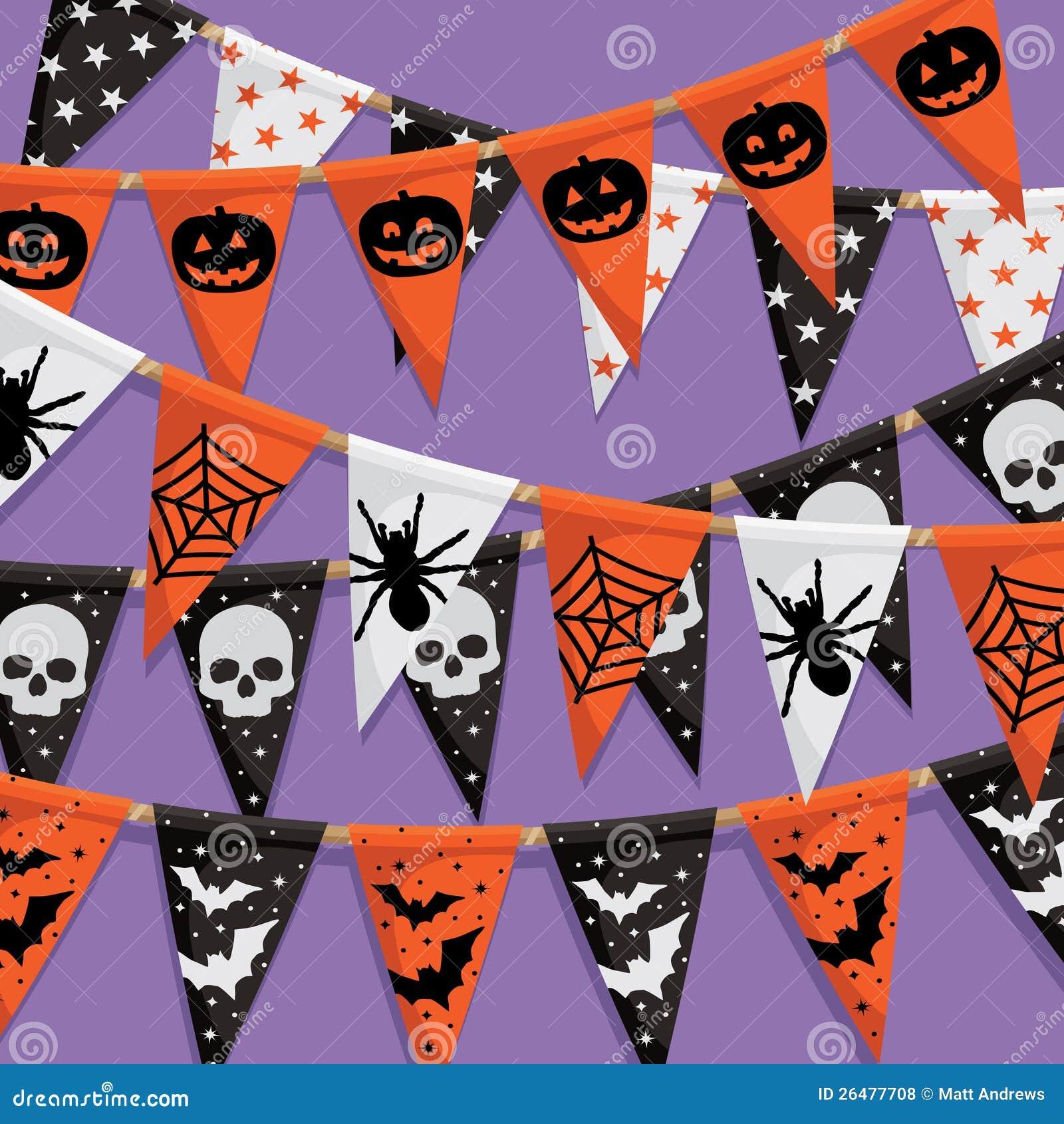 Halloween Bunting halloween bunting Halloween Bunting Background