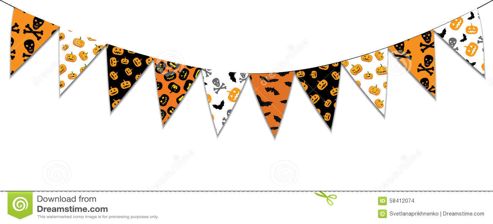 Halloween Bunting halloween bunting Halloween Buntings