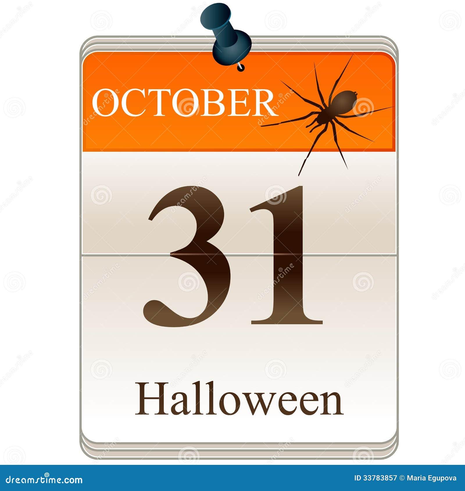 Halloween Calendar Date Calendar Template 2016 - 2016 Halloween Calendar