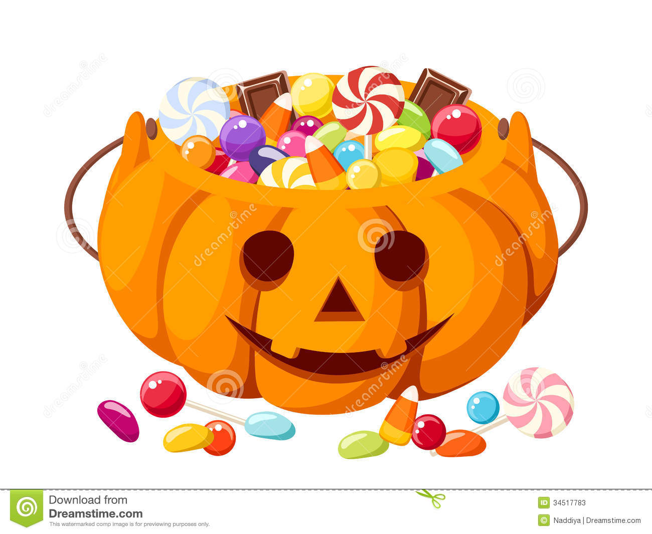 Trick Or Treat Candy Clipart Treating candy   295 x 300