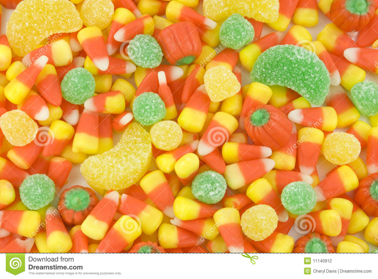 Halloween Candy Backgr...