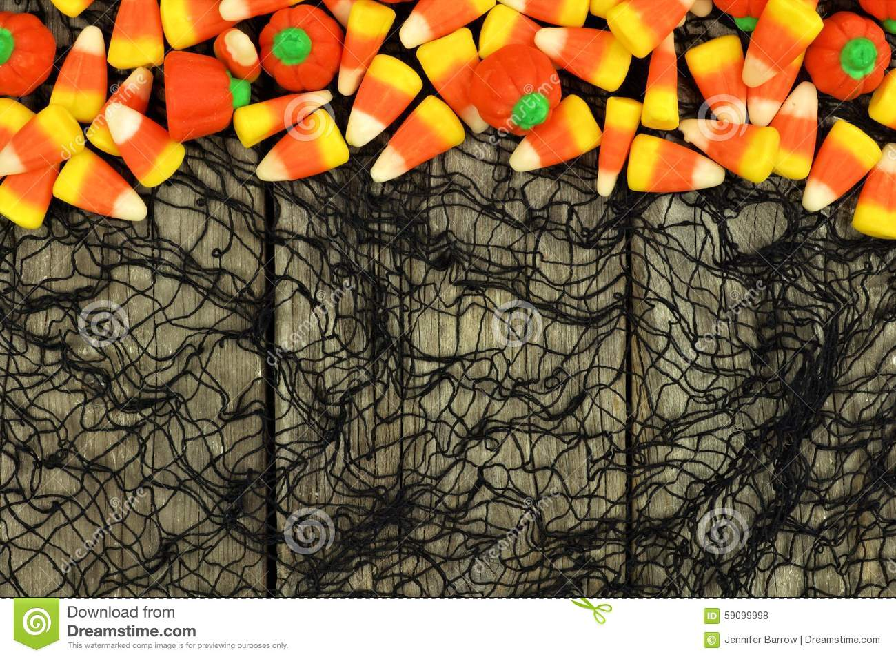 Halloween Candy Border...