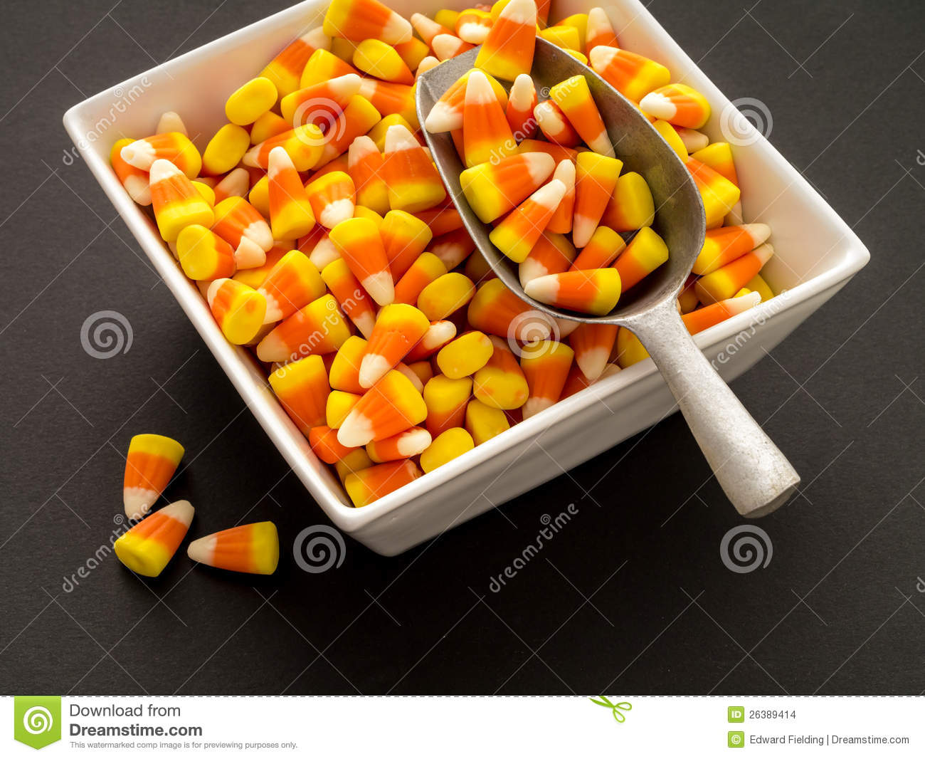 Halloween Candy Bowl Stock Images Image 26389414