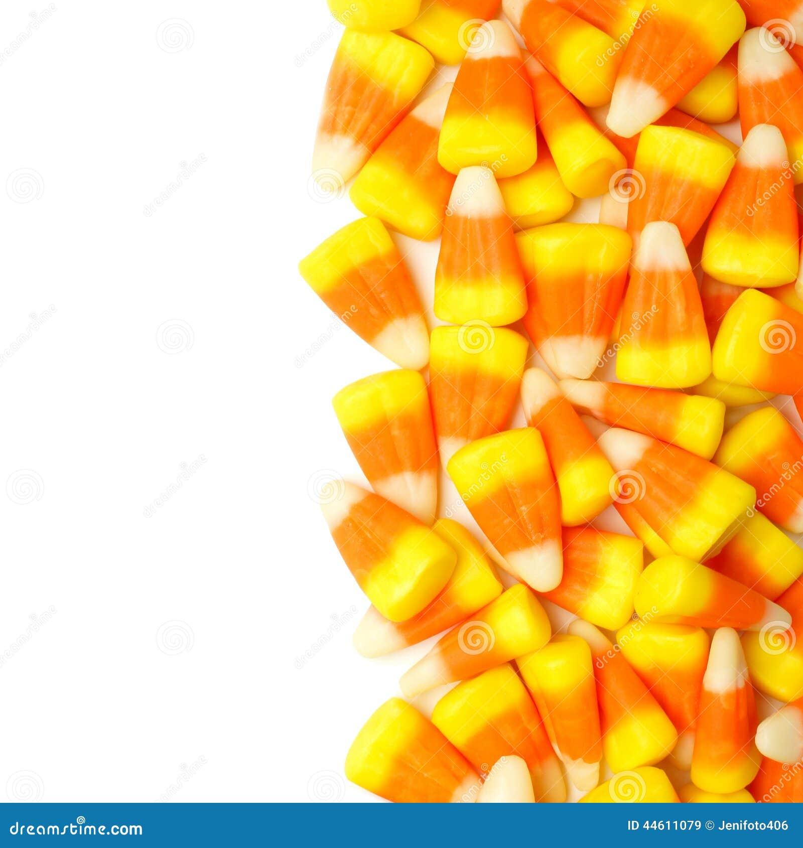 halloween candy corn border stock photo image 44611079