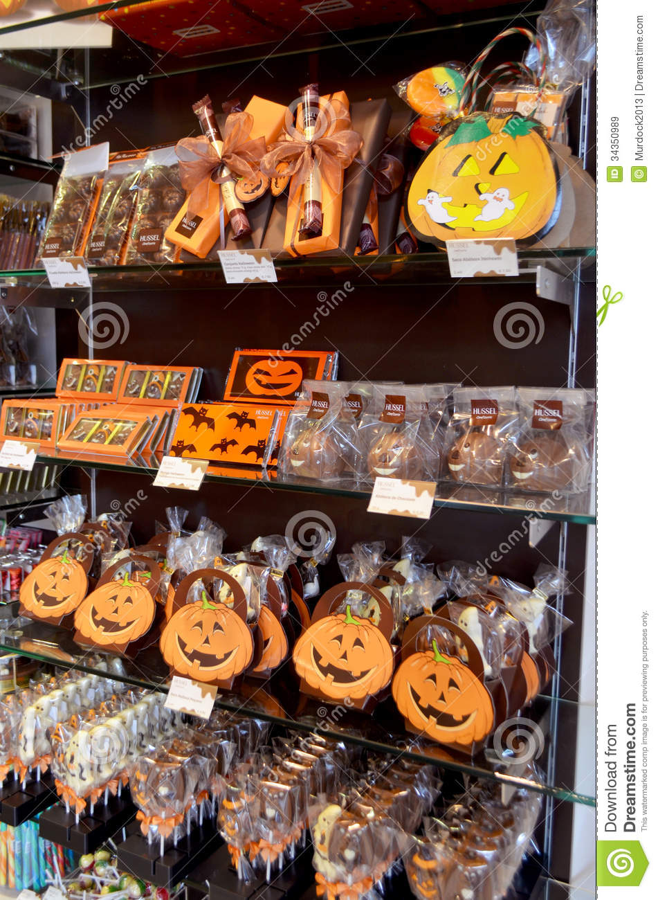 halloween candy for sale editorial stock image. image of ghost