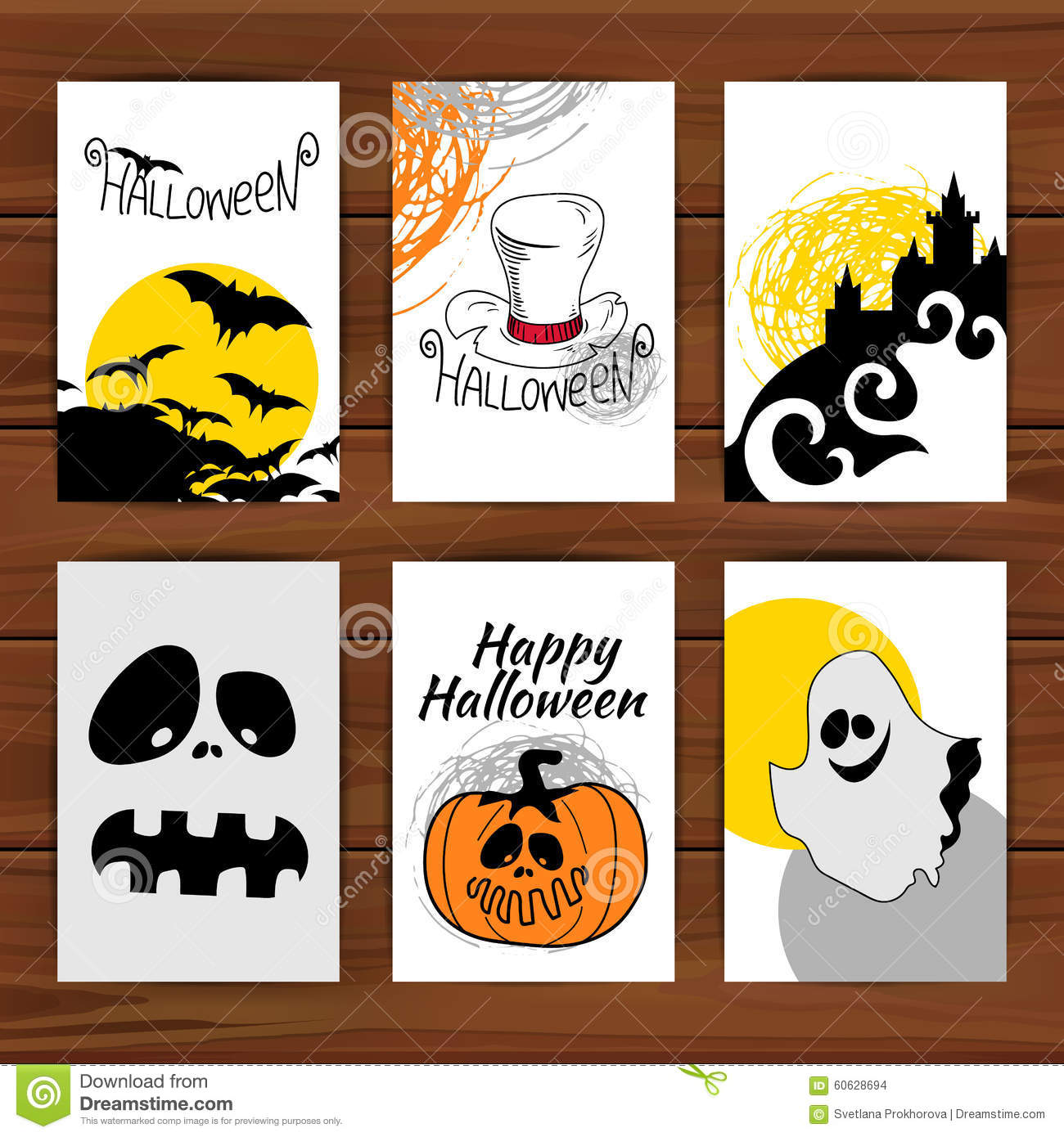 cards greeting halloween - Photo Halloween Cards