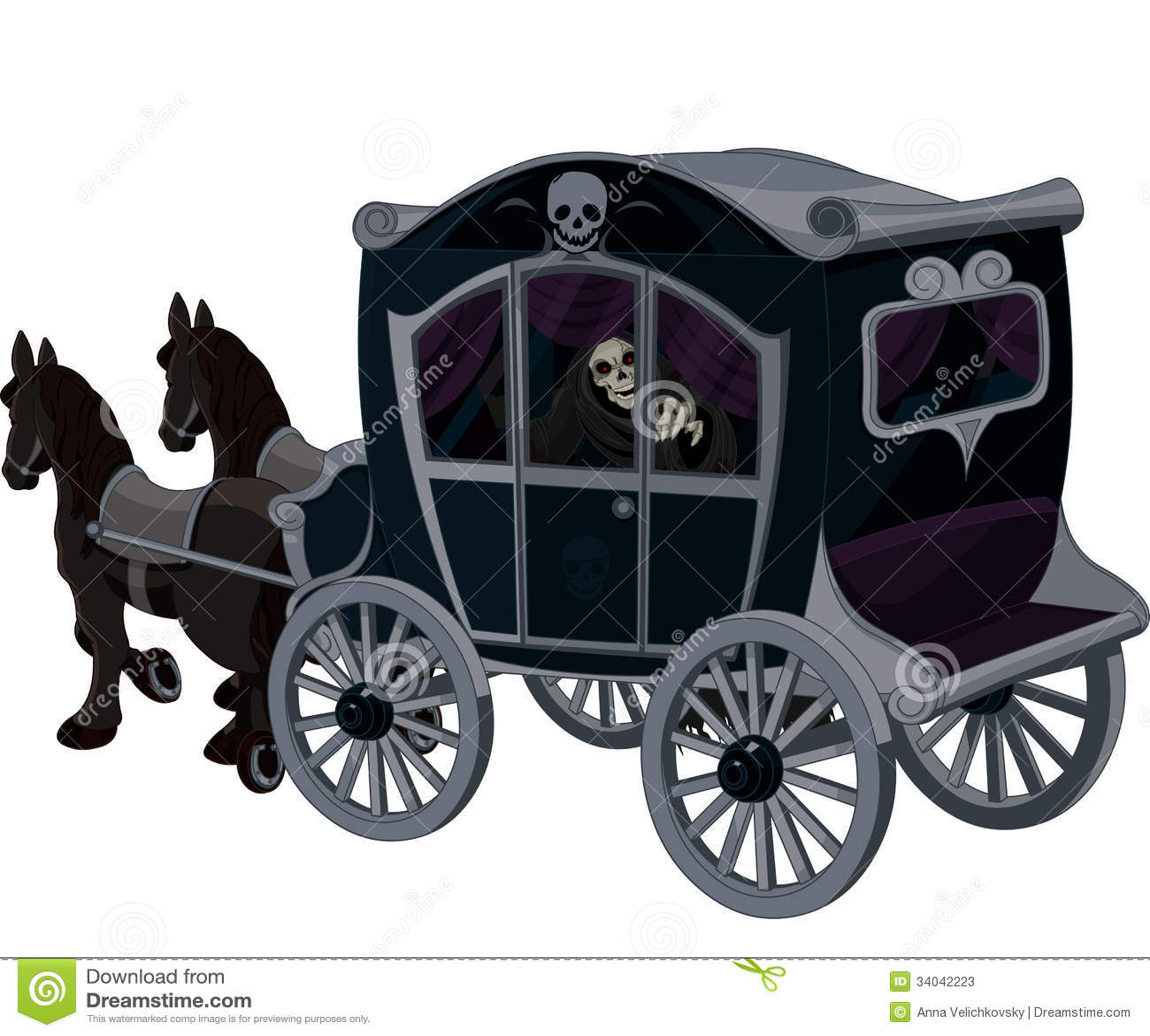 Halloween Carriage Stock Photos - Image: 34042223