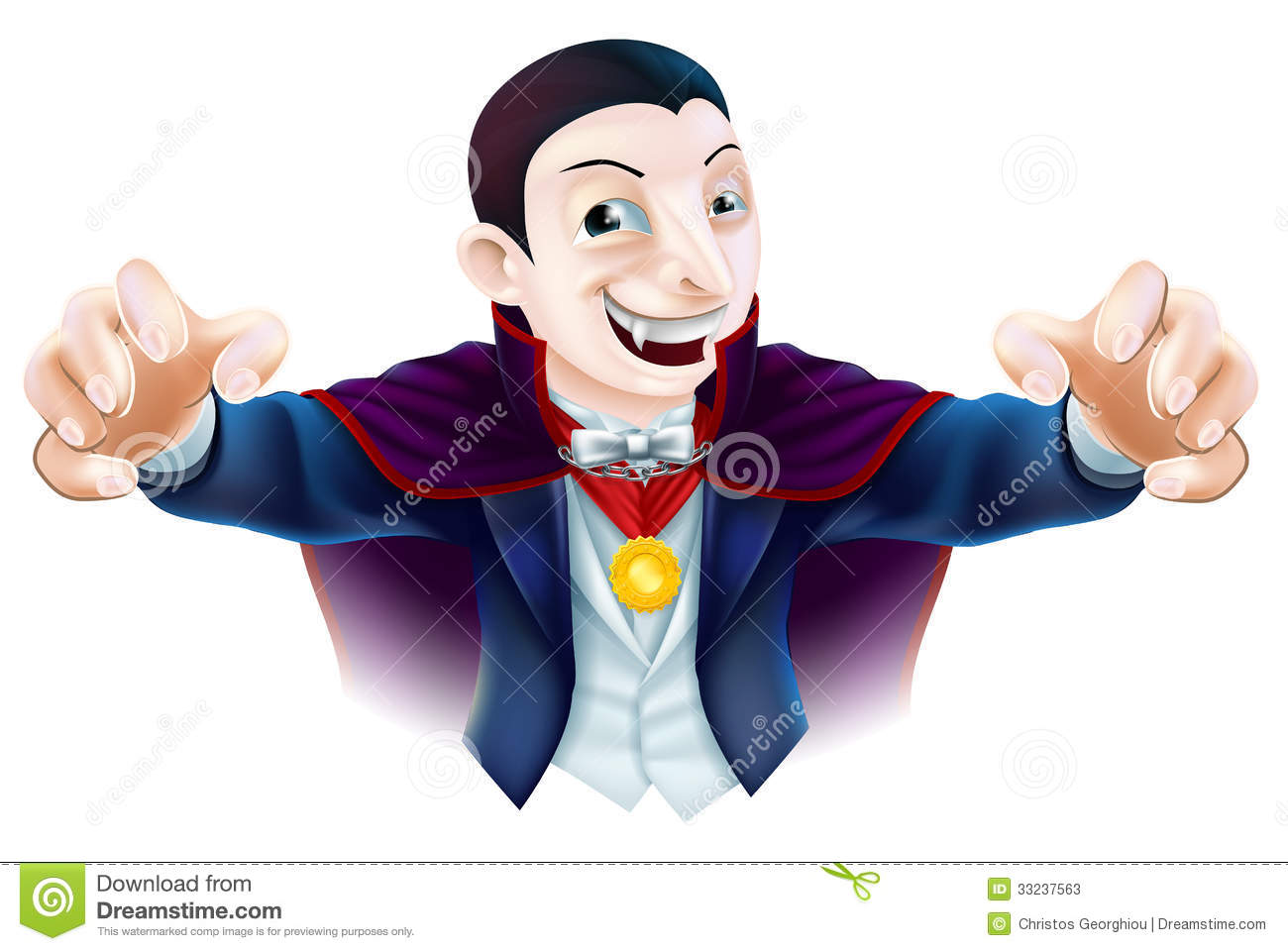 Halloween cartoon dracula stock photos image