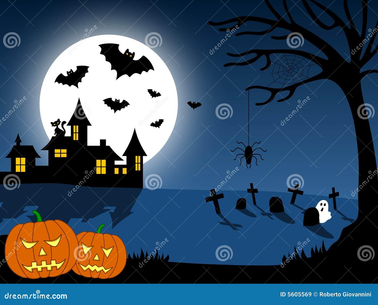 halloween scene clipart - photo #39