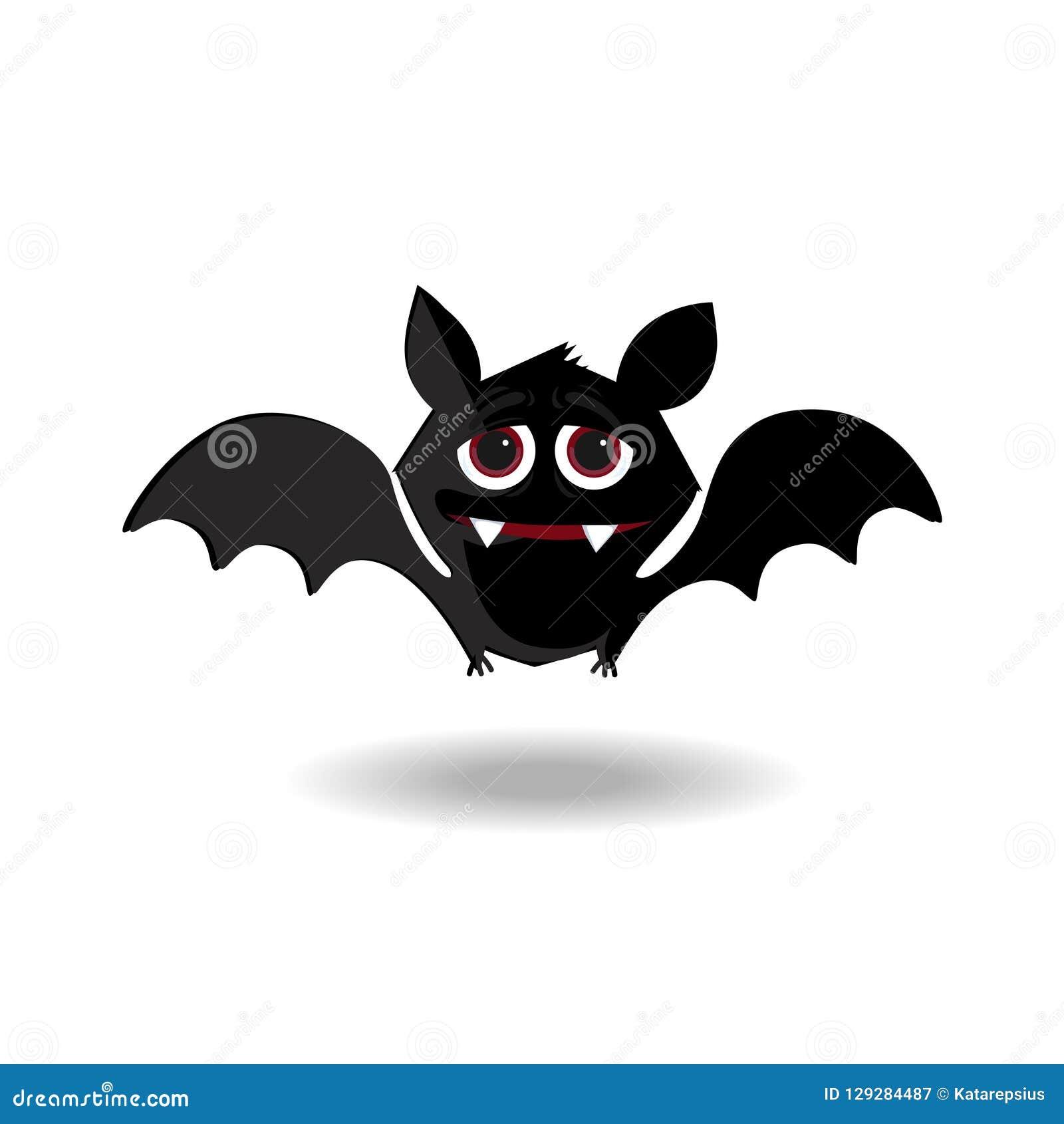 halloween clip art character of kawaii bat flittermouse for kids rh dreamstime com Halloween Witch Clip Art All Halloween Pictures Clip Art